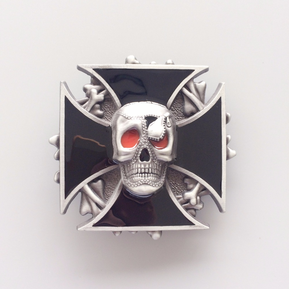 Retail Distribute New Vintage Skull Belt Buckle BUCKLE-SK040 Free Shipping