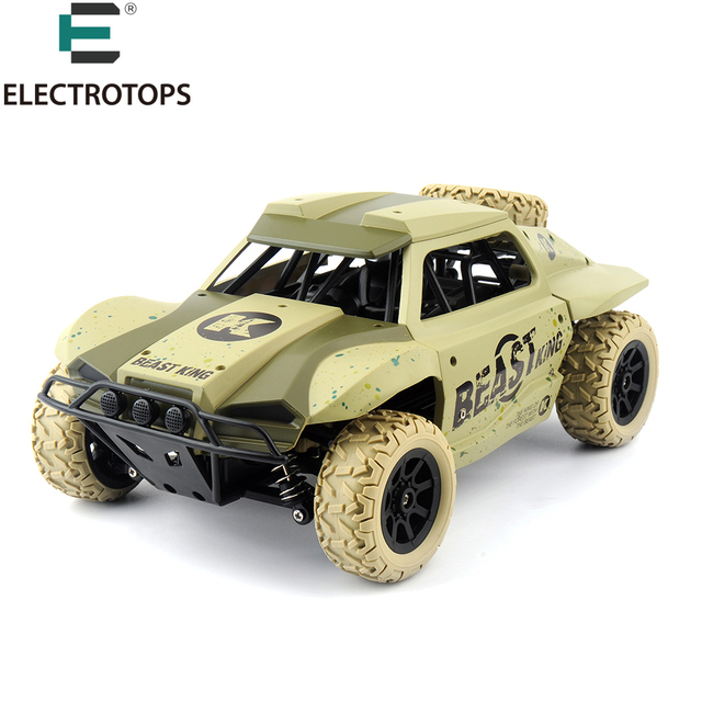 E T Electric RC Car 2.4Ghz 4WD Remote Control Car High Speed Off Road Truck Racing Car 1/18 Scale Rc Monster Truck For Kids Boy