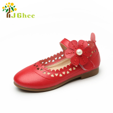 J Ghee 2017 Spring Autumn Girls Shoes Princess Kids Single Shoes Children s Flats Sneakers Soft