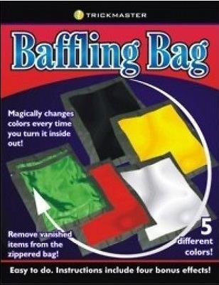 Free shipping Baffling Bag Magic Trick Fun Magic Magic Accessories Close up Satge Magic props Magia