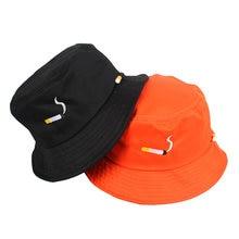 Панама женская однотонная хлопковая шапка от солнца для спорта