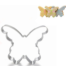 Butterfly Cookie Tools  Cake Stencil Kitchen Cupcake Decoration Template Mold Coffee Baking Biscuits Stamp