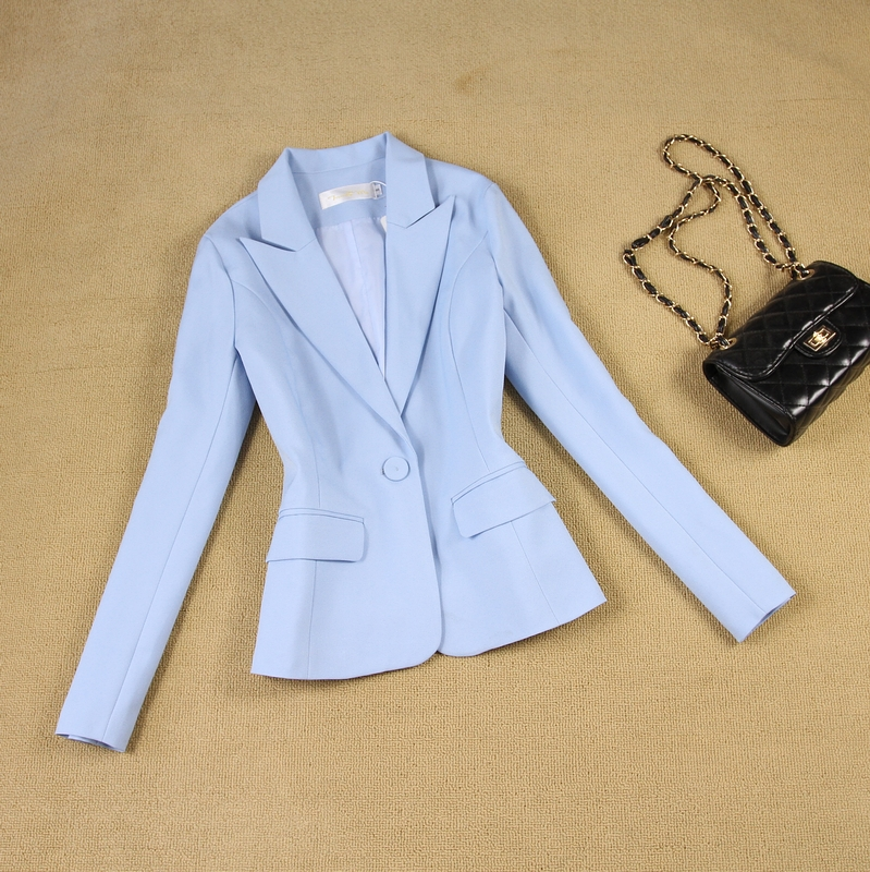 Blue Two Piece Fashion Summer Dress 2019 Backless Slim Suit Jackets Women Tuxedos Suits For Wedding Outfit