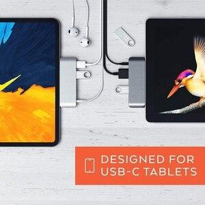 Image 5 - USB C Hub Adapter con USB C TIPO C PD di Ricarica 4 K HDMI USB 3.0 Cuffie da 3.5mm con 2018 iPad Pro MacBook Pro SAMSUNG S8 S9 S10