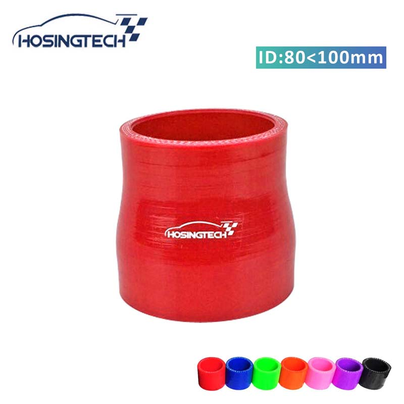 "RED 2.5/""-2.75/"" AIR INTAKE//PIPING RUBBER REDUCER COUPLER FOR NISSAN"