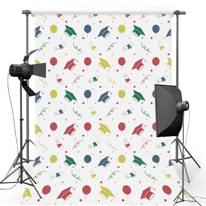 MEHOFOTO College Cap Vinyl Photography Background graduation season Oxford Backdrop For Children photo studio F2756