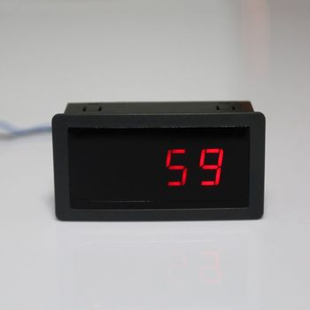 Digital Counter DC LED 4 Digit 0-9999 Up/Down Plus/Minus Panel Counter Meter with Cable
