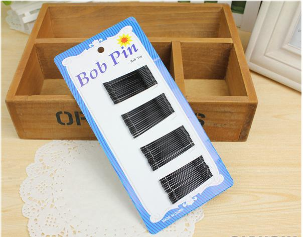 36pcs small size Fashion Black Women's Bobby Pins Invisible Wave Hair Grips Salon Barrette Hairpin Hair Clips Ladies' Barrette