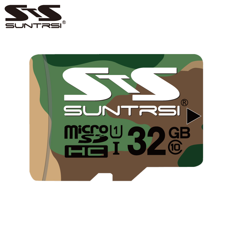 Suntrsi 128GB Micro SD Card 64GB 32GB memory card for Phones/Camera 16gb TF Card Real Capacity micro sd 8gb High speed