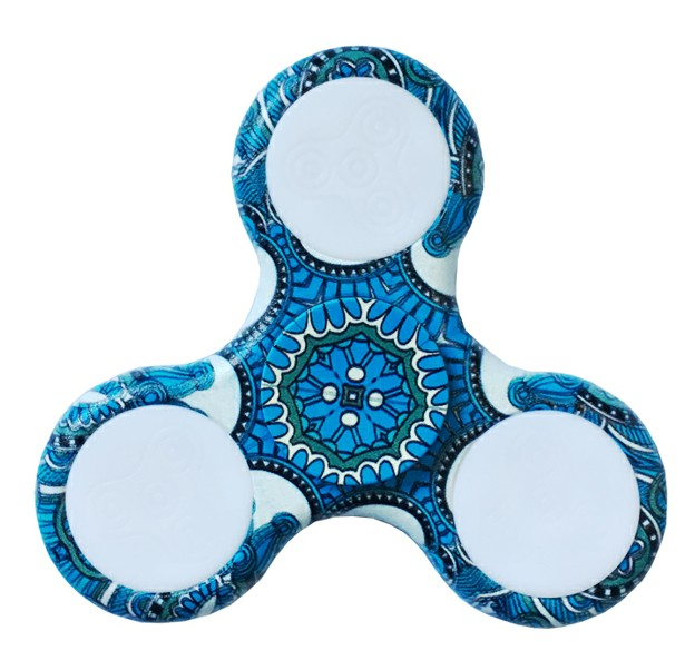 Triangle Tri-Spinner For Autism and ADHD Spinner Anti Stress Gift Toy LED Light 5 Colors