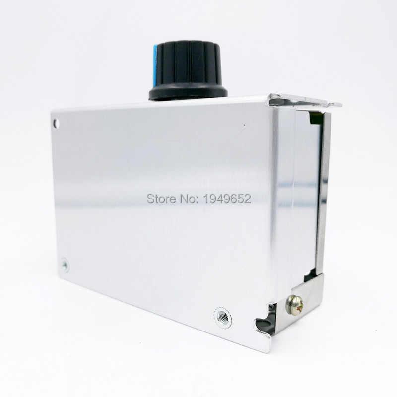 220 V регулятор напряжения перем. тока мотор регулятор скорости PWM Контроллер SCR 4000 Вт Выпрямитель для регуляторов силы света