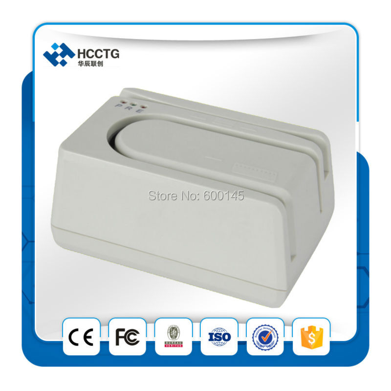 Banque Unix Système MICR MSR Lecteur de Chèques/CMC 7 Vérifier Et Chèque Scanner Machine HCC1250