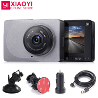 YI Smart Dash Camera 165 Degree 1080P 60fps Car DVR Detector 2.7 ADAS Safe Reminder Dashcam [International Edition]