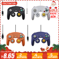 USB Wired Controller Vibration Shock Controller Joystick For Nintend Gamecube For NGC For GC For PC Computer Accessories