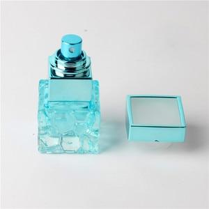 Image 3 - ファッション 10 ミリリットルカラフルポータブルガラス香水瓶アトマイザー空のためのスプレーでパルファムケース旅行