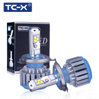 TCX Auto Headlight Bulb Set H7 LED Bulbs Lamp 12V Car Head Light Conversion Kit 7000lm