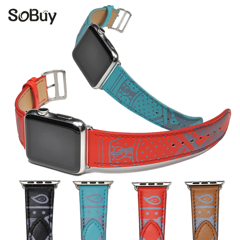 IDG leather strap for apple watch 42mm watchband 38mm strap S1 S2 band Classic belt bracelet band iwatch 1/2/3 series s3 bands handmade cymbal arborea hybrid ap 16crash