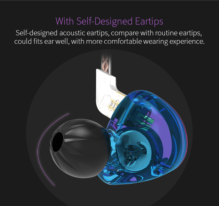 AK Original KZ ZST Colorful BA+DD In Ear Earphone Hybrid Headset HIFI Bass Noise Cancelling Earbuds With Mic Replaced Cable ZSN 10
