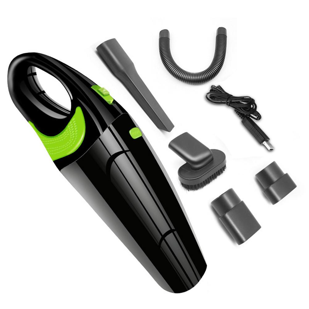 Wireless  Handheld Car Home Dual-Use Vacuum Cleaner Dust Collector Portable Vacuum with USB Charging Cable