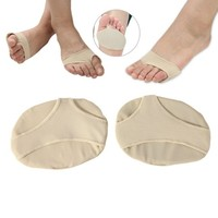 200 pairs/lot Front foot supports pad forefoot Metatarsal pain relief Absorber Cushion toe sleeve