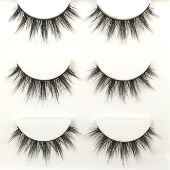 YOKPN Glam Faux Real Short Lashes Fashion 3D Stereo Fasle Eyelashes Nature Nude Makeup Fake Eye Lashes Eyelash Extension Tools
