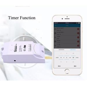 Image 2 - Sonoff TH10/16A akıllı Wifi anahtarı izleme kablosuz prob sıcaklık nem sensörü anahtarı Wifi akıllı ev uzaktan kumanda