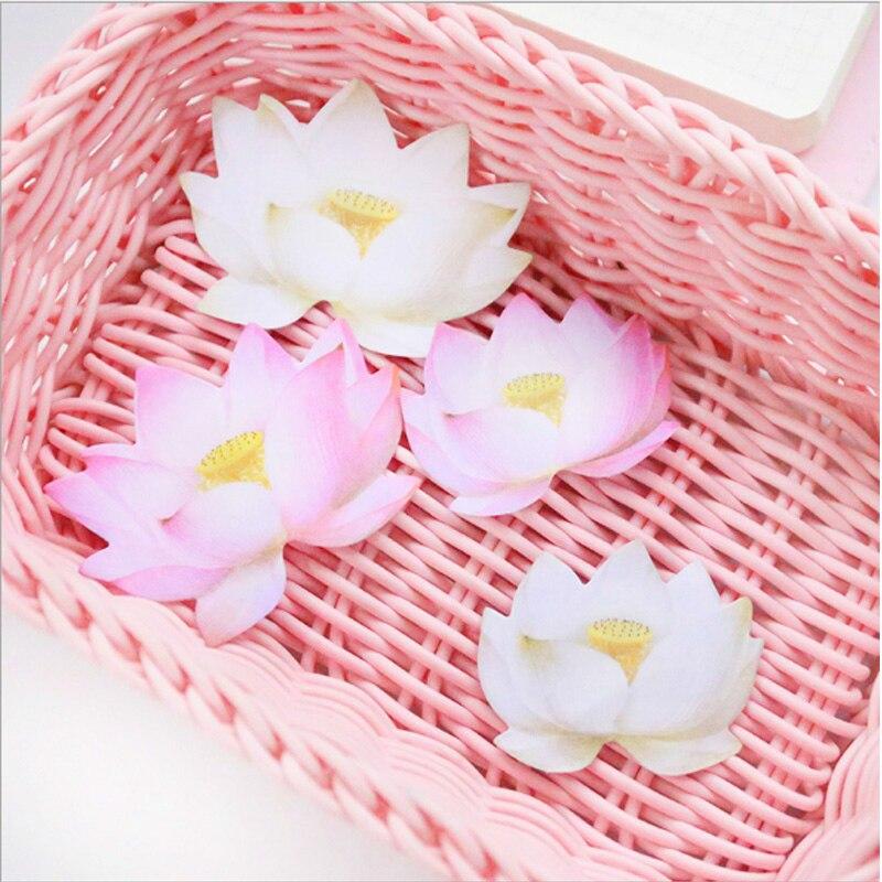 1 stks / partij Leuke Romantische lotus N-plakken Memo Pad Sticky - Notitieblokken en schrijfblokken bedrukken - Foto 4