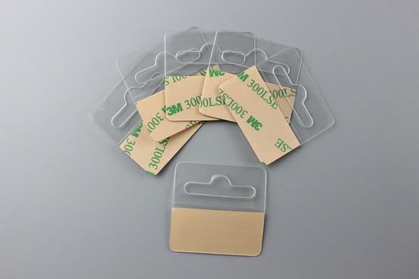 PET hook merchandise box packing hanger PVC display hook