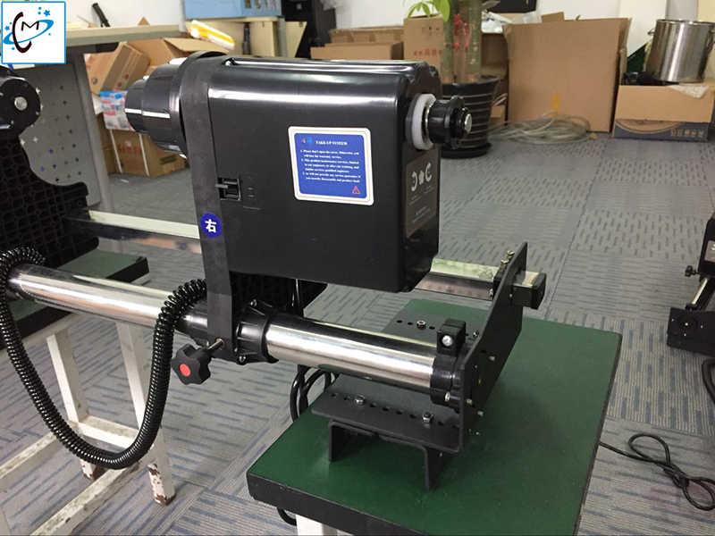 Roland VP540 VS640 Eco Pelarut Printer DX5 DX7 Roller Auto Mengambil Sistem untuk Mimaki Xuli Smart Warna Kertas Mengambil up Reel 38 Mm
