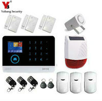 YobangSecurity Wireless GSM Security IP Camera WIFI Home Security Surveillance Alarm System With Solar Power Flash
