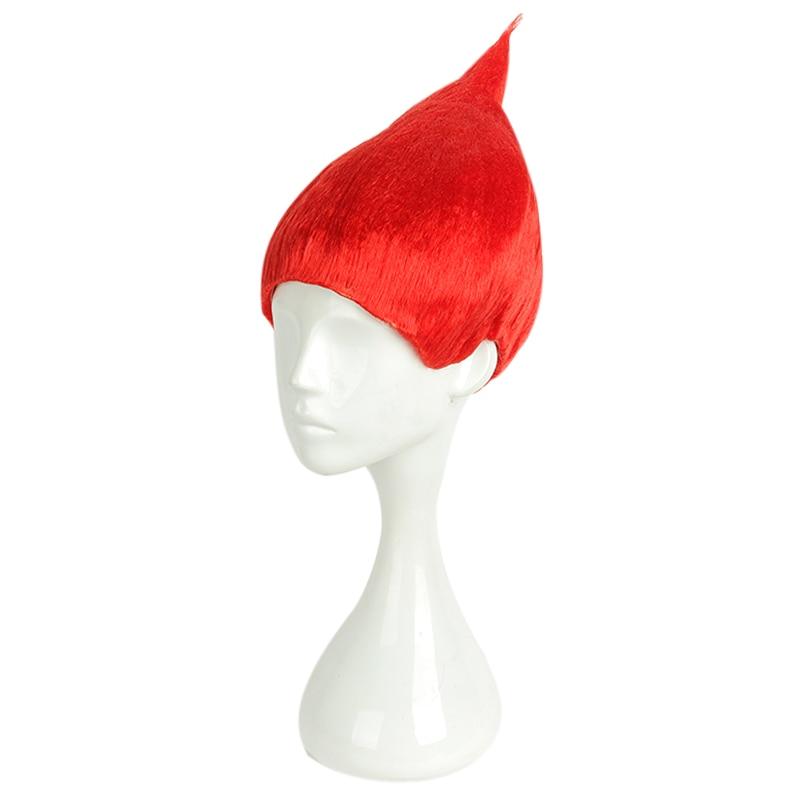 ⑥Mcoser 30 cm corto de Halloween partido Cosplay peluca sintética 8 ...