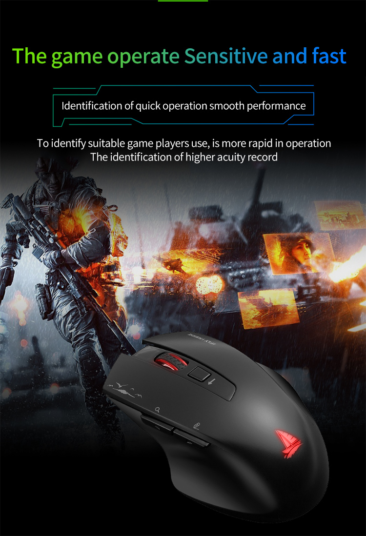 Cerreat Smart Voice Translation Mouse Portable Instant Intelligent speech translateTypingSearch 2.4G Wireless Mouse with Enter Key 24 Target Languages (8)