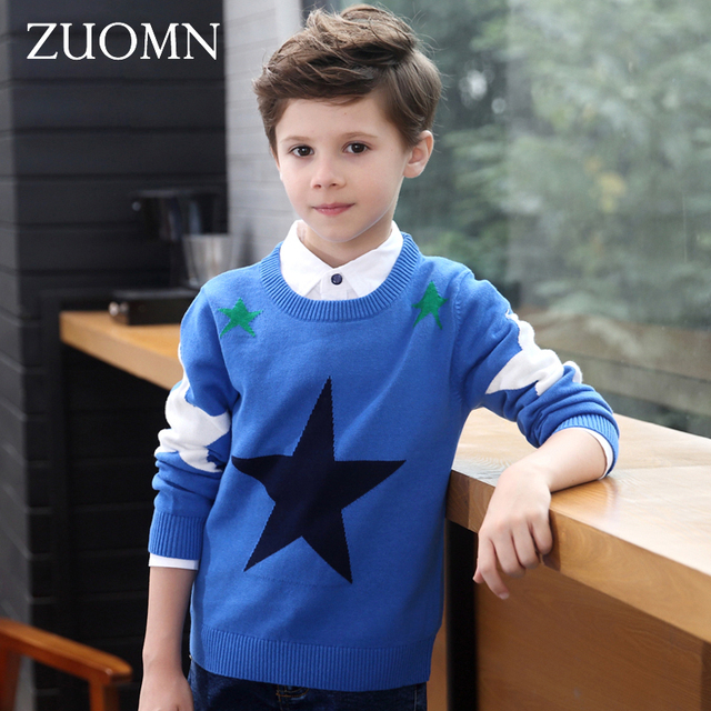 d1ec911c5b79 Kids Winter Sweater Design Pullover Sweater Boys Clothes For a Bay ...