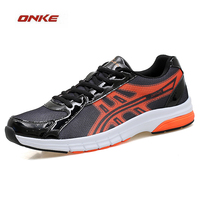 ONKE 2017 Best Selling Entertainment Track And Field Sports Running Man Shoes Super Light Elasticity Soft