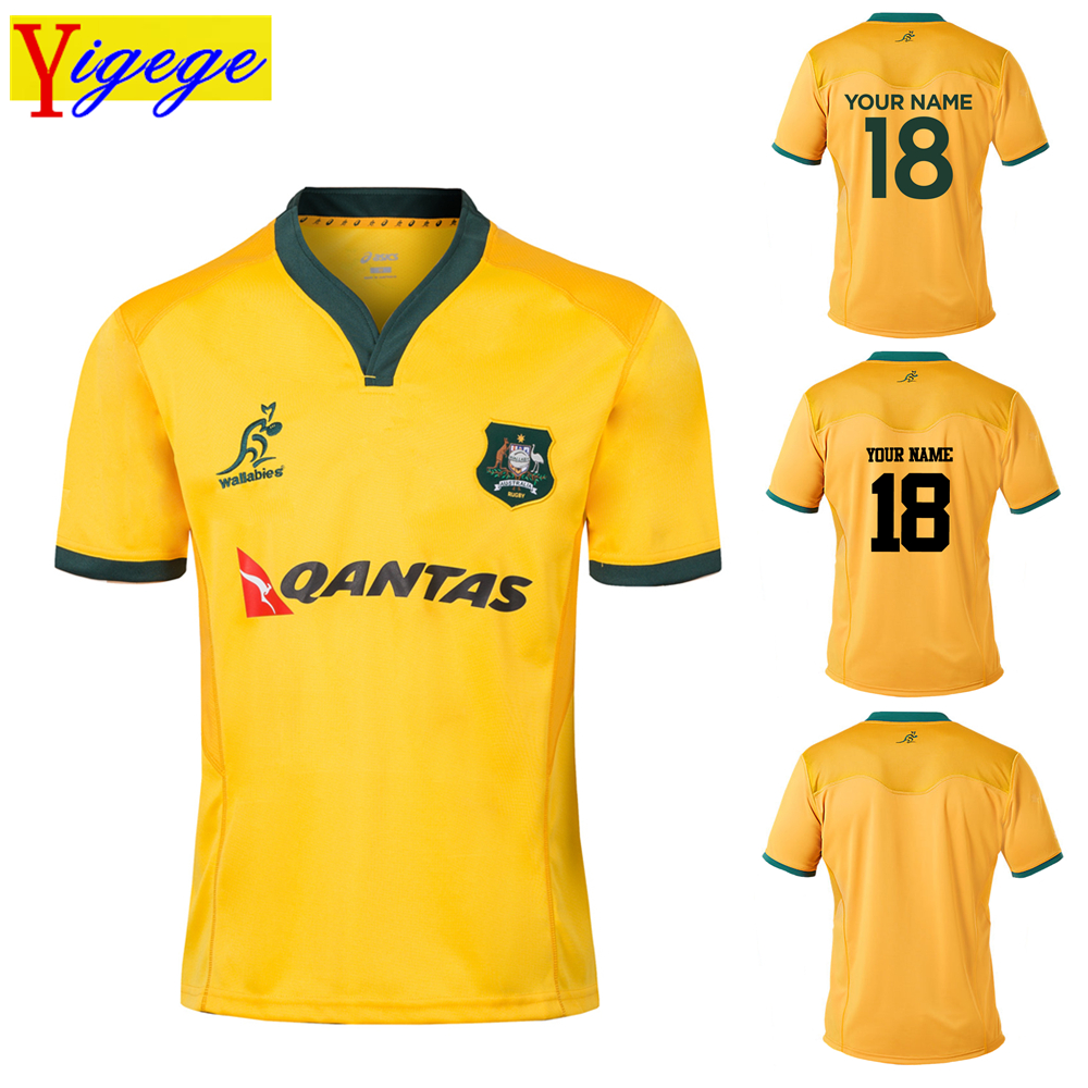 Custom names and numbers 2018 2019 AUSTRALIA WALLABIES indigenous rugby Jerseys rugby League shirt jersey s 3xl