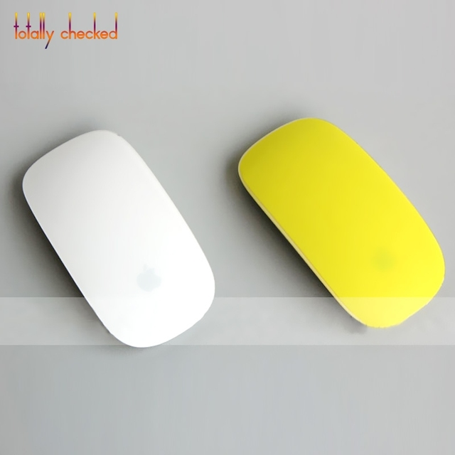 For Apple Mac book Air Pro Retina 11 12 13 15 For Macbook Magic 2 Mouse Candy Color Soft Silicone Skin Protector Cover Film