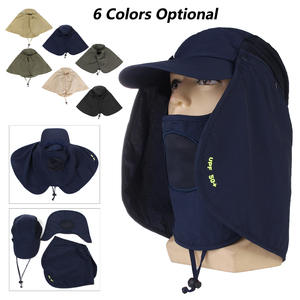 550c801ad88e8 Neck Cover Cycling Outdoor Sport Hiking Visor Hat Fishing Hiking Hunting Hat