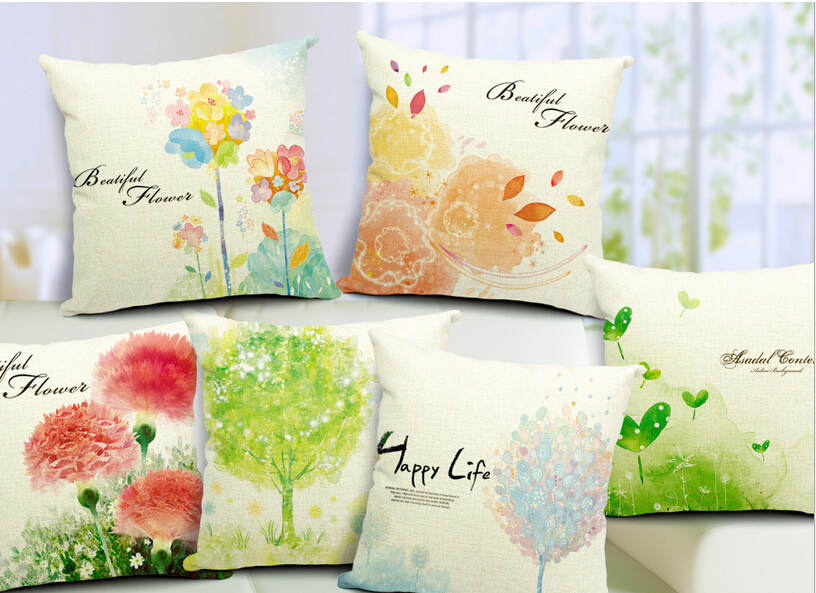 Modern minimalist small fresh pillow cover sofa cushions windows Cushion Cover home decoration car seat luxury pillowcase
