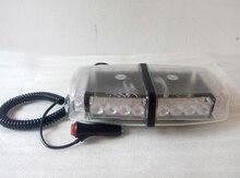Высокая интенсивность 30 см DC12V 24 Вт автомобильные Светодиодные сигнальные мини lightbar, привело аварийное освещение бар, предупреждение вспышки фары, 11 flash, водонепроницаемый