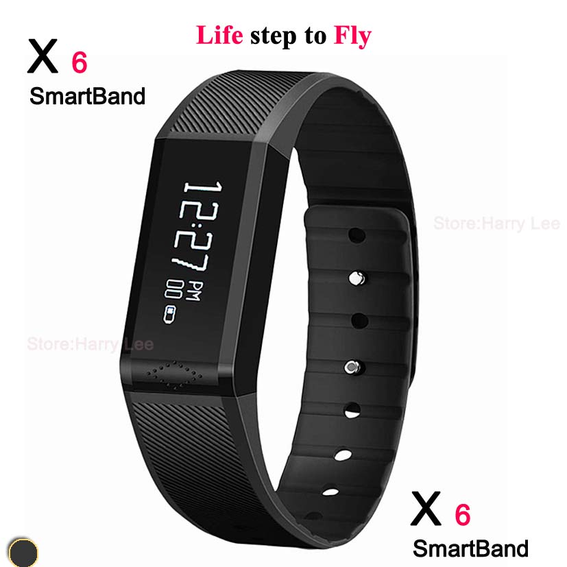 2016 Vidonn X6 0.88 inchIP65 Bluetooth V4.0 Smart Watch Bracelet w / track sleep Message display monitor - Yusiness,science and technology store