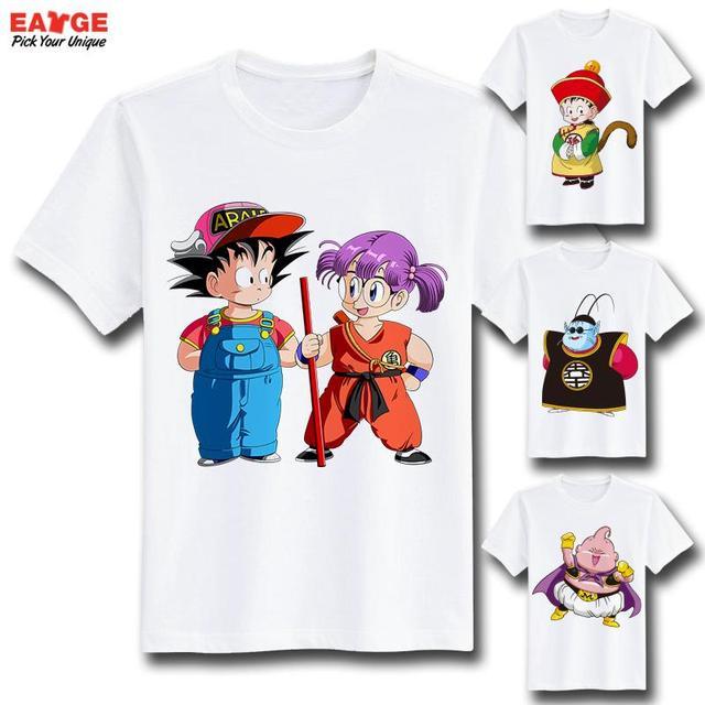Anime Series Dragon Ball Z Printed Tshirt