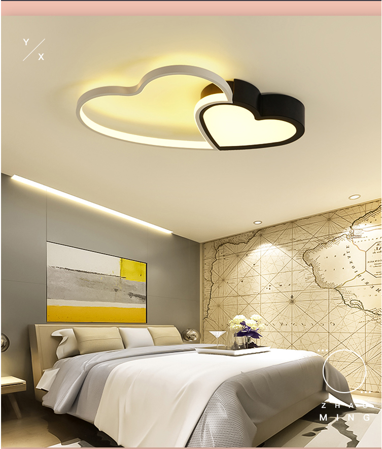 Ceiling Lights & Fans Ceiling Lights Analytical Modern Simple Sweet Fashion Surface Mounted Smart Led Ceiling Lights Ceiling Light For Living Room Bedroom Lustres