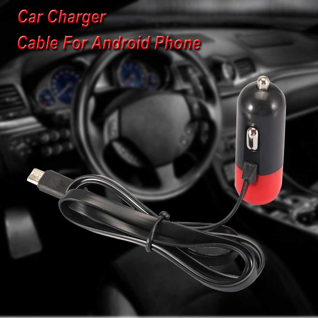 CARPRIE 2019 nuevo cargador de coche nuevo Mini estable rápido coche de carga USB cerca de 1 metro Cable para Android teléfono 9043013