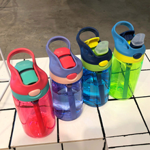 Sports Water Bottle for Kids Lovely Eco-friendly Plastic LeakProof High Quality Tour Portable My Drink BPA Free 480ml