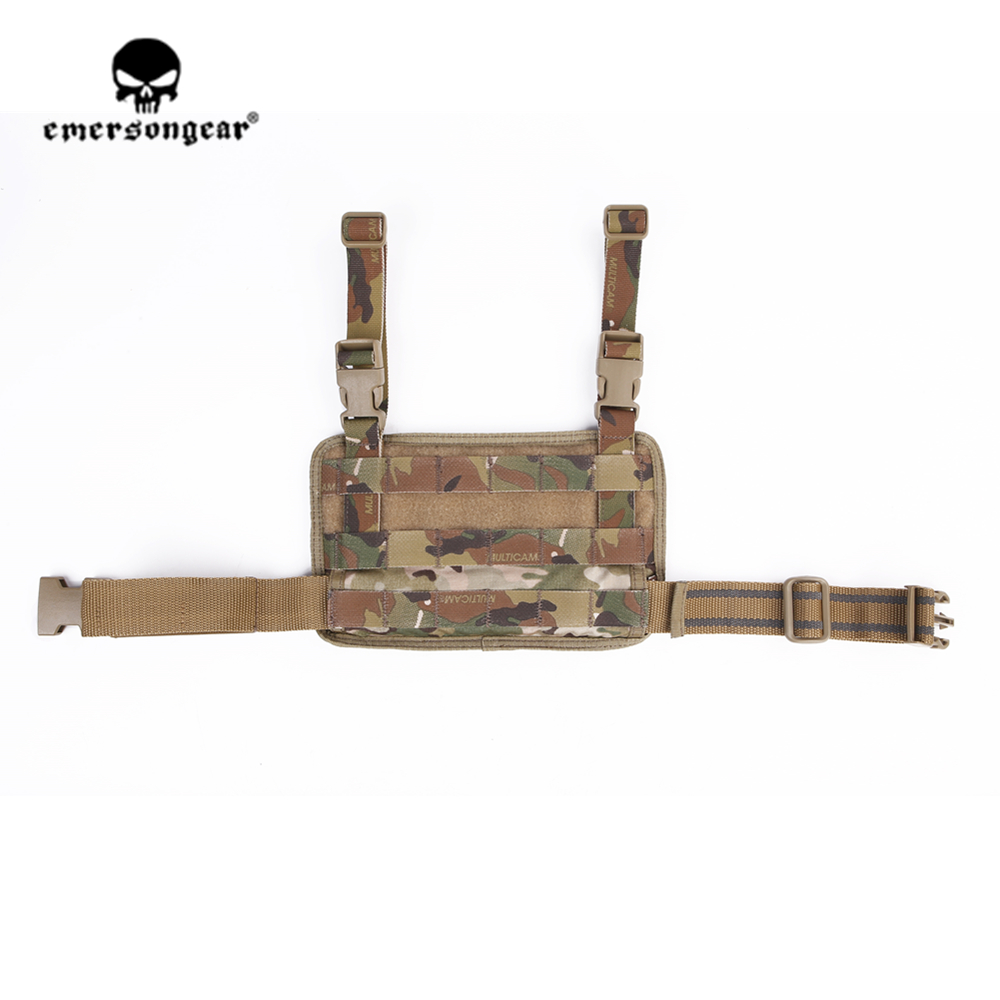 emersongear Emerson Modular Rife Leg Panel Pouch Tactical Molle Drop Leg Pouch Hunting Pistol Holster Outdoor Sport Molle Pouch