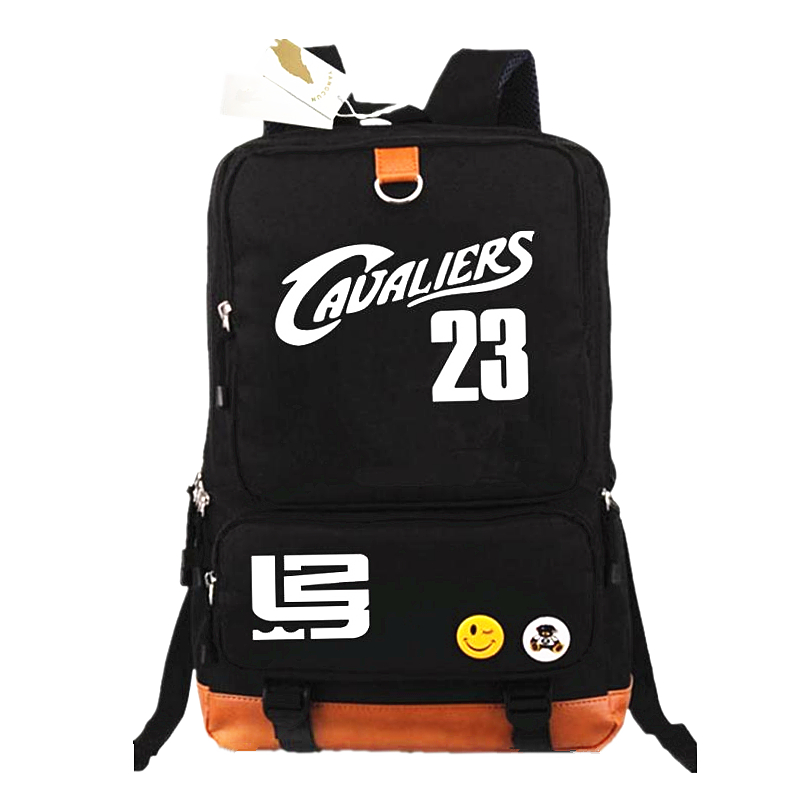 New LeBron James backpack Mochilas Laptop bag for women and men rucksack fashion canvas bags casual school bags travel bags msmo 2017 new kpop exo canvas backpack sacks women men student school bags for girl boy casual travel exo bags