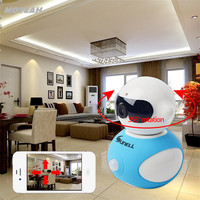 Q3T0 Camera 355 Degree Monitoring Without Dead Angle IP Camera With Pan And Tile MOYEAH