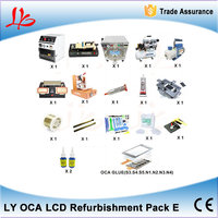 מכונת למינציה OCA מכונה + LCD + דבק מסיר בועת הסרת מכונה מפריד + מכונת למינציה סרט OCA + + מדחס אוויר
