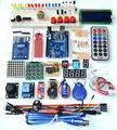 Atualizado Versão Avançada Starter Kit do RFID aprender Suíte Kit LCD 1602 para Arduino UNO R3