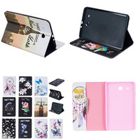 BF Luxury Tablet Case For Samsung Galaxy Tab E 9.6'' SM-T560 SM-T561 T560 T561 PU Leather Flip Cute Book Stand Cover Protector